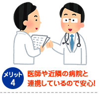 医師・専門家との提携!