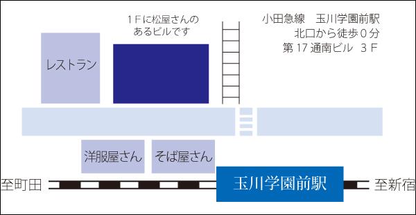 ボディメンテナンスKeiwa 地図